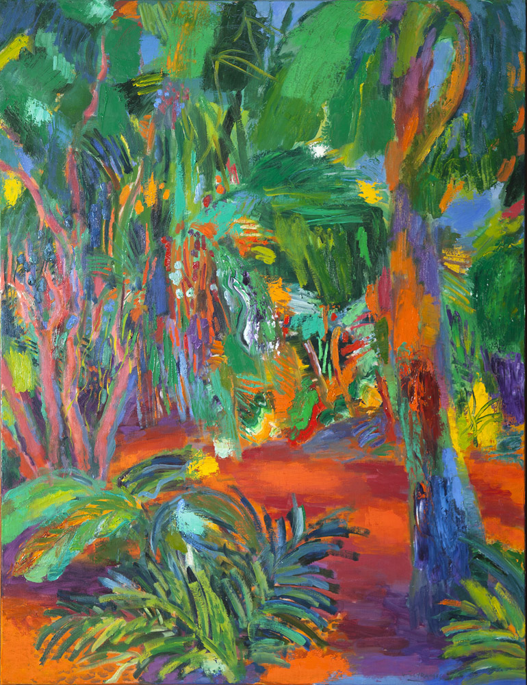 Selva | Óleo / tela. 146 x 114 cm. 2016